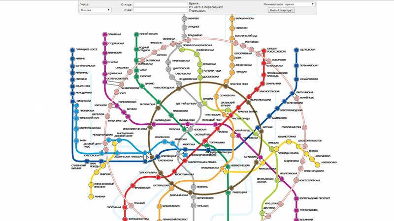 Интерактивная схема москвы москвы фото 354