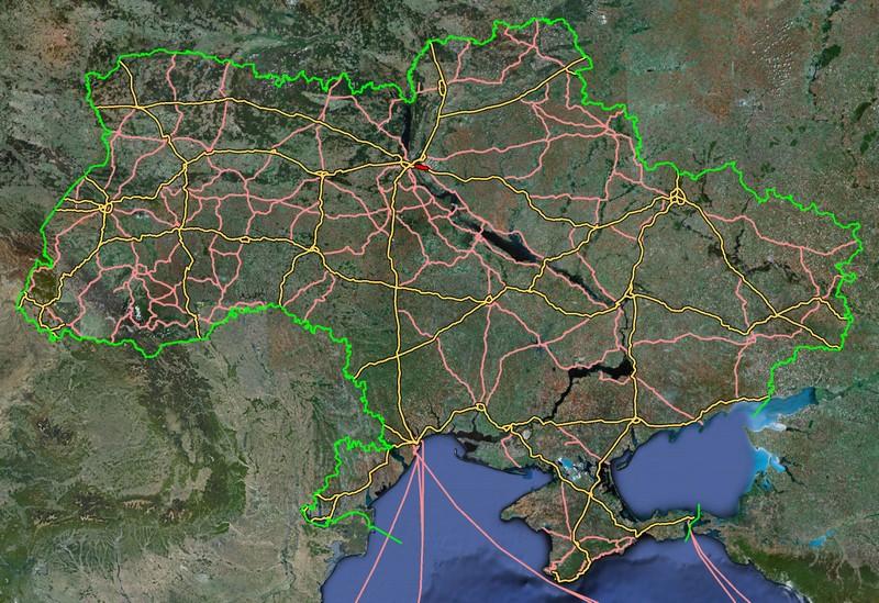 украины спутника новые со фото