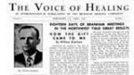 The Voice of Healing - april 1948
